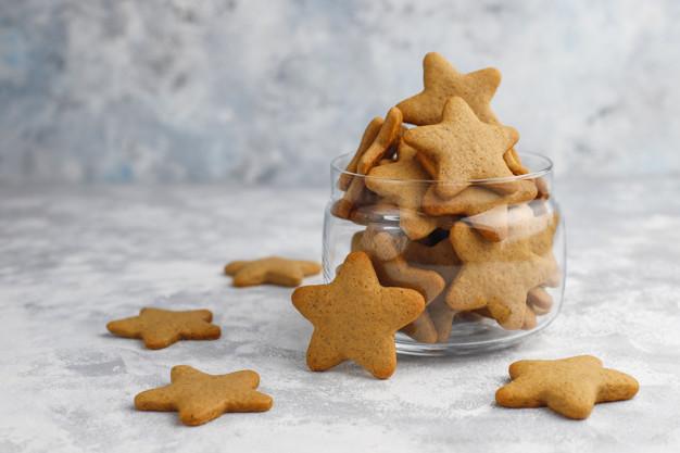 Aromatyczne bezglutenowe ciastka korzenne - pierniczki