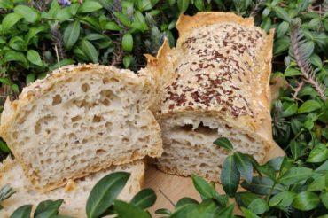 Chleb owsiany na zakwasie z ogórków kiszonych