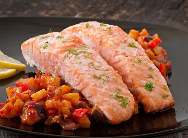 Dietetyczna ryba po grecku idealna propozycja na święta
