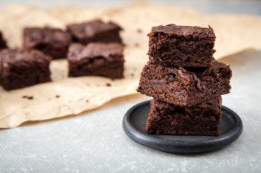Brownie z buraków mocno czekoladowe