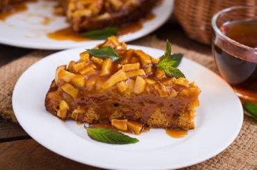 Ciasto owsiane z jabłkami i gruszkami