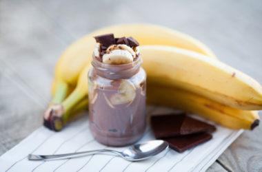 Domowa nutella z bananem – mocno czekoladowa