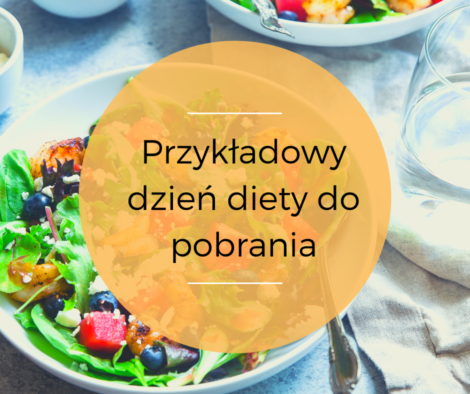 Przykładowy dzień diety do pobrania