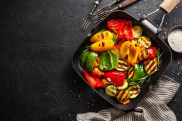Grillowane warzywa z aromatycznymi przyprawami